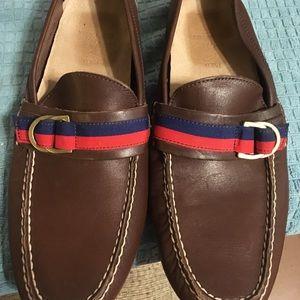 Ralph Lauren Polo Terry Ribbon Shoes Size 8.5